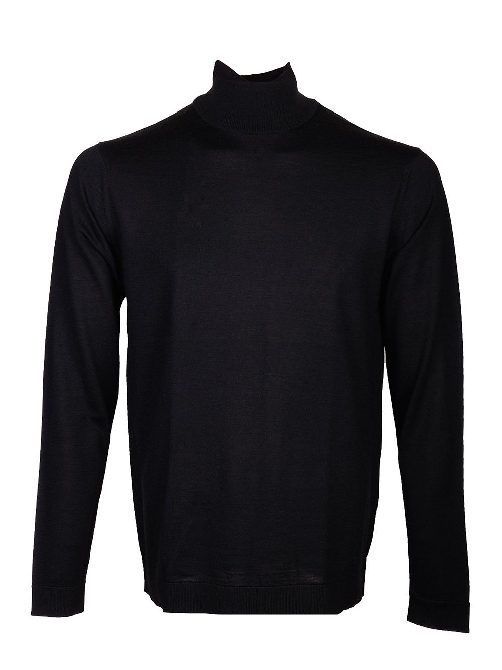 SELECTED Μπλούζα πουλόβερ 160068504 ΜΑΥΡΟ