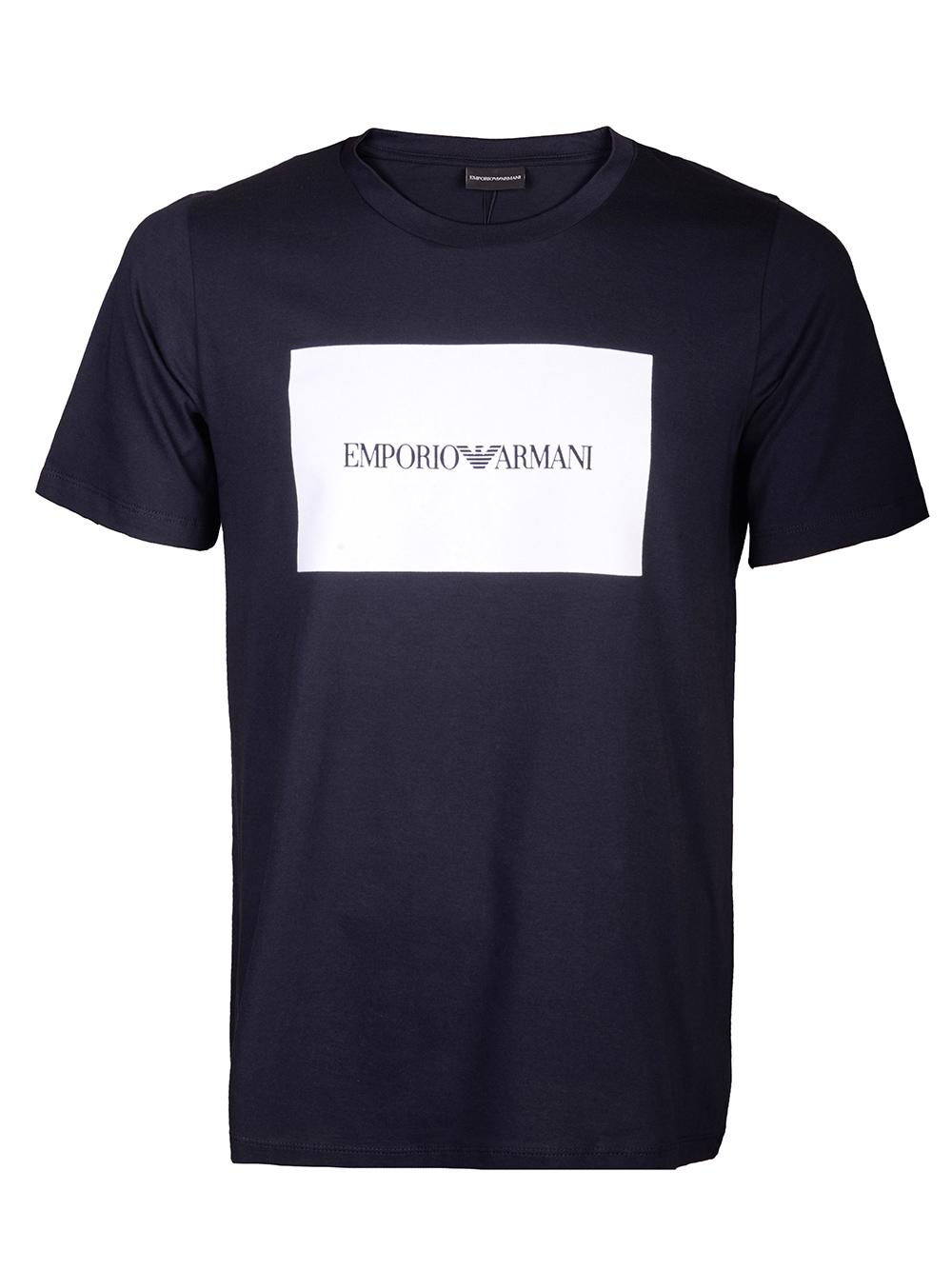 EMPORIO ARMANI Μπλούζα T-shirt 3H1TD0 1J30Z-0924 ΜΑΥΡΟ