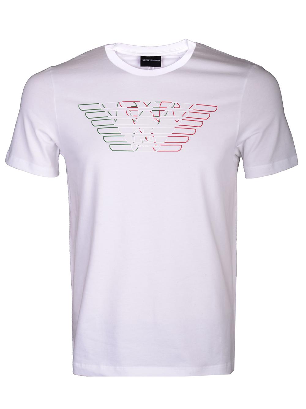 EMPORIO ARMANI Μπλούζα T-shirt 3H1T71 1J11Z-0100 ΛΕΥΚΟ