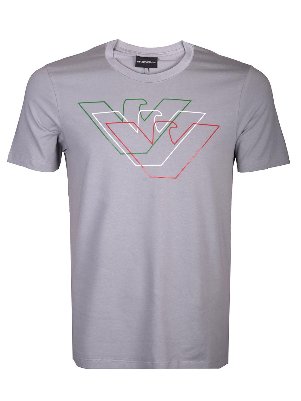 EMPORIO ARMANI Μπλούζα T-shirt 3H1T71 1J11Z-0653 ΓΚΡΙ