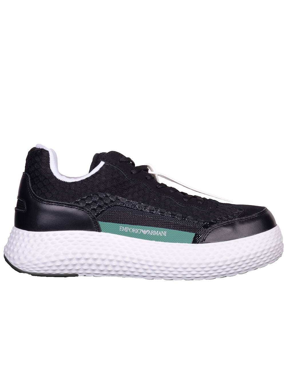 EMPORIO ARMANI Παπούτσια Sneakers X4X269 XM233-789 ΜΑΥΡΟ