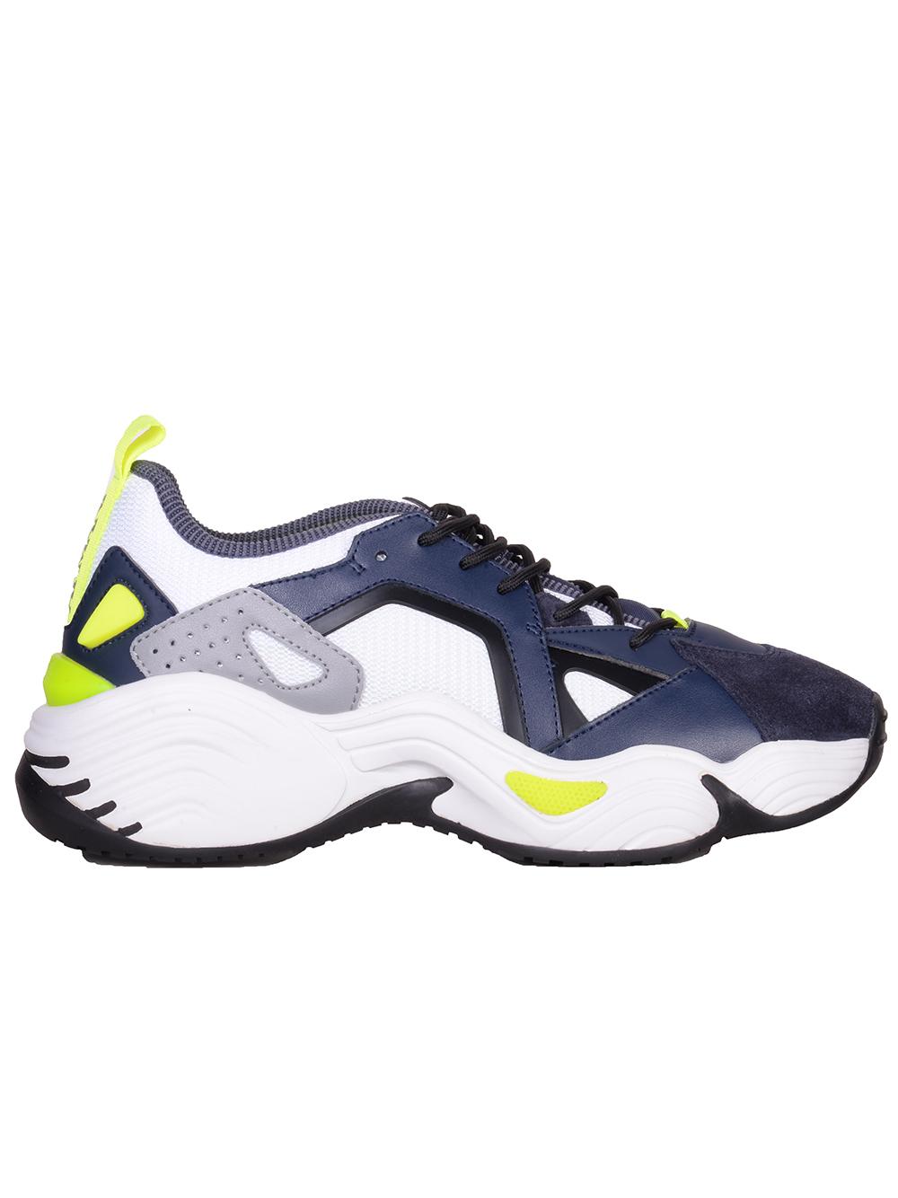 EMPORIO ARMANI Παπούτσια Sneakers X4X286 XM243-982 ΜΠΛΕ
