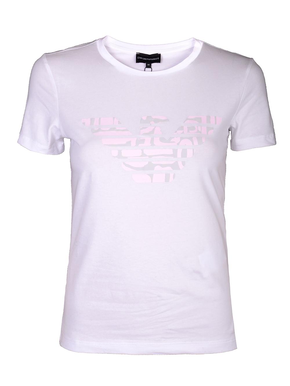 EMPORIO ARMANI Μπλούζα T-shirt 3H2T8A 2J07Z-0100 ΛΕΥΚΟ