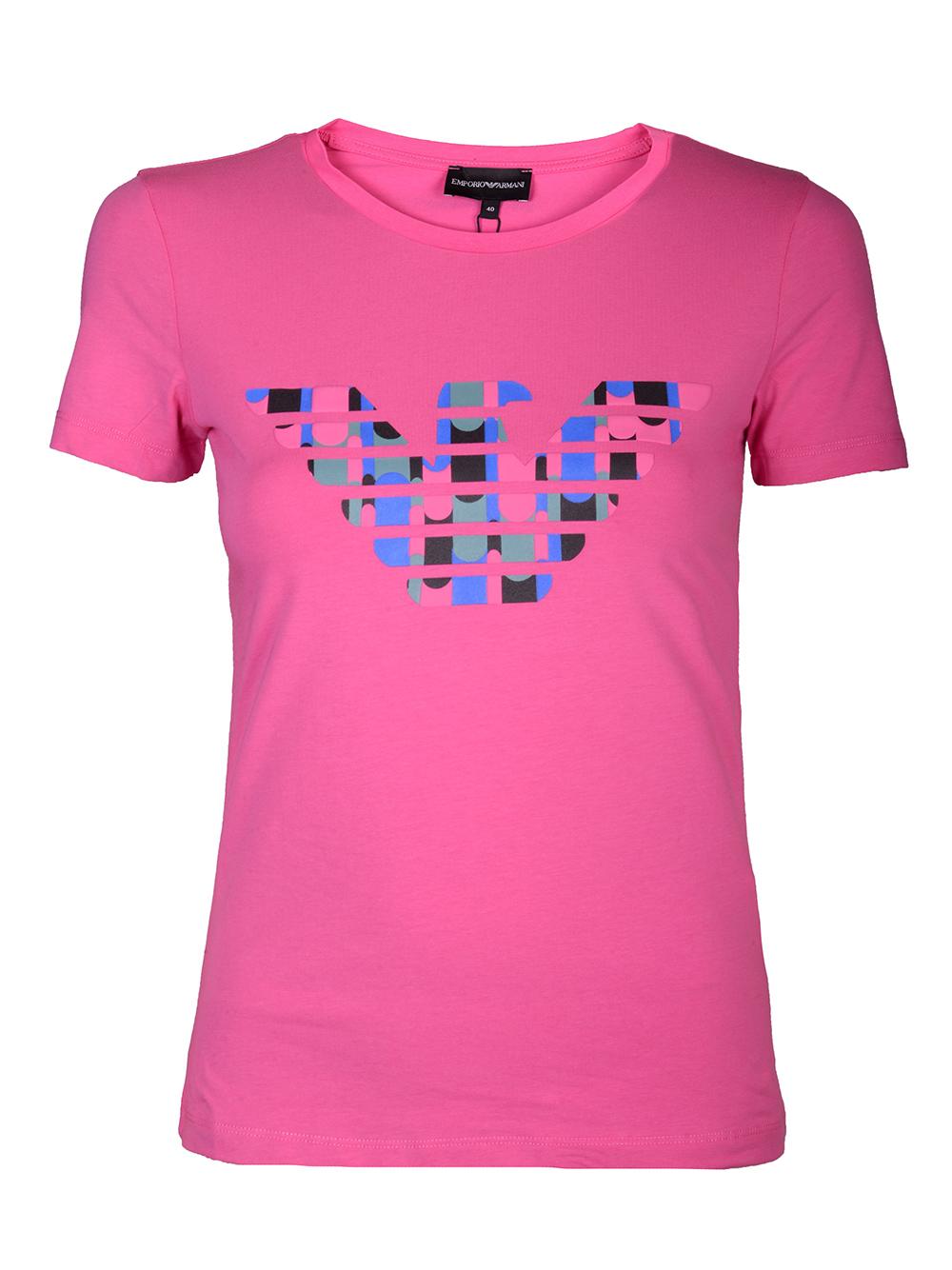 EMPORIO ARMANI Μπλούζα T-shirt 3H2T8A 2J07Z-0309 ΦΟΥΞΙΑ