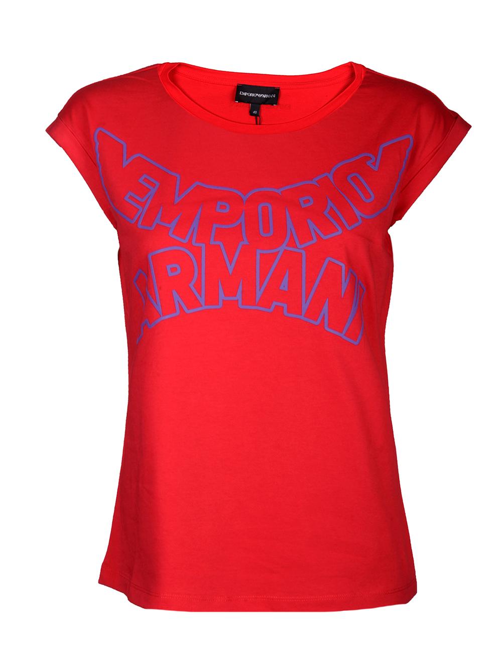 EMPORIO ARMANI Μπλούζα T-shirt 3H2T7S 2J53Z-0334 ΚΟΡΑΛΙ