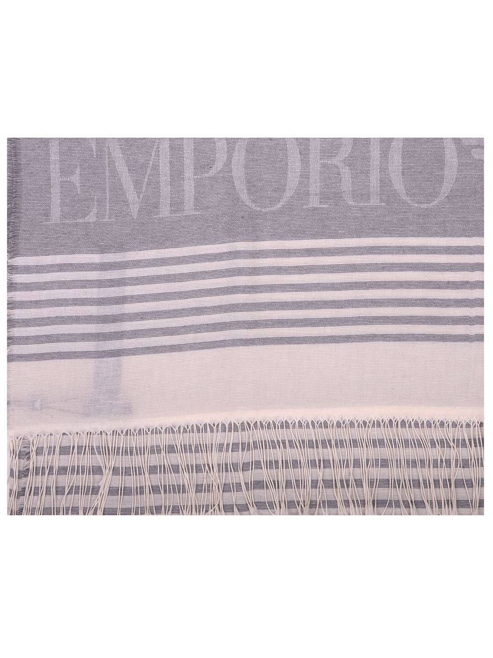 EMPORIO ARMANI Εσάρπα γυναικεία 635256 0P318-240 ΓΚΡΙ
