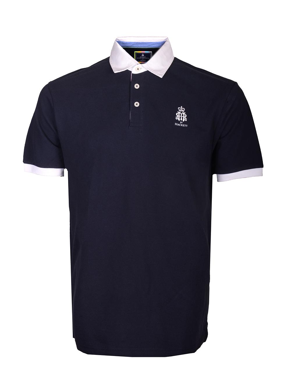 HACKETT Μπλούζα Polo HM562598-595 ΜΠΛΕ