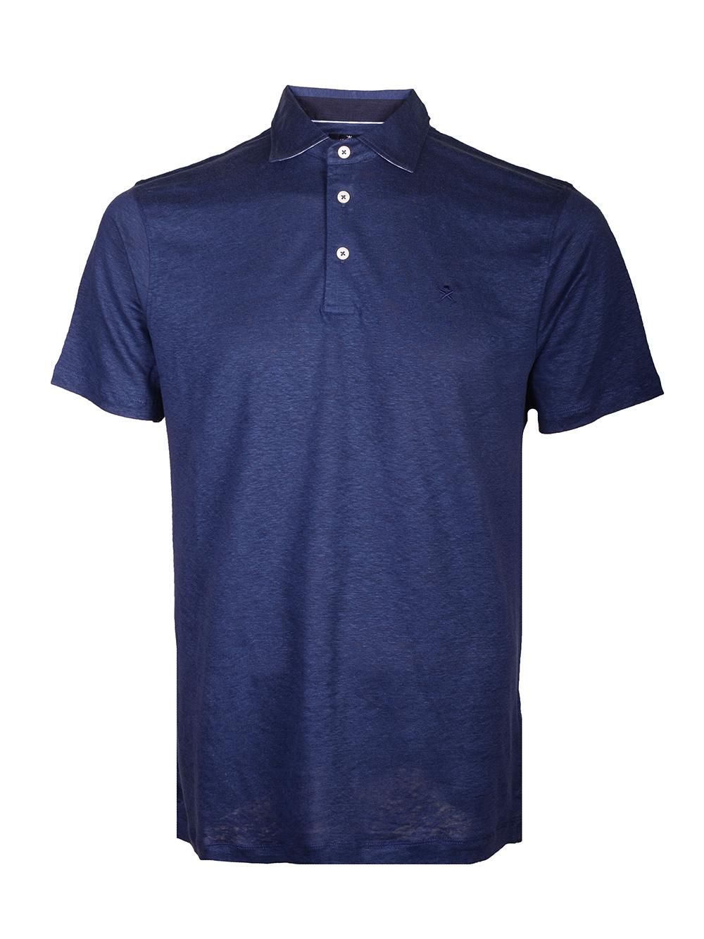 HACKETT Μπλούζα Polo HM562588-595 ΜΠΛΕ