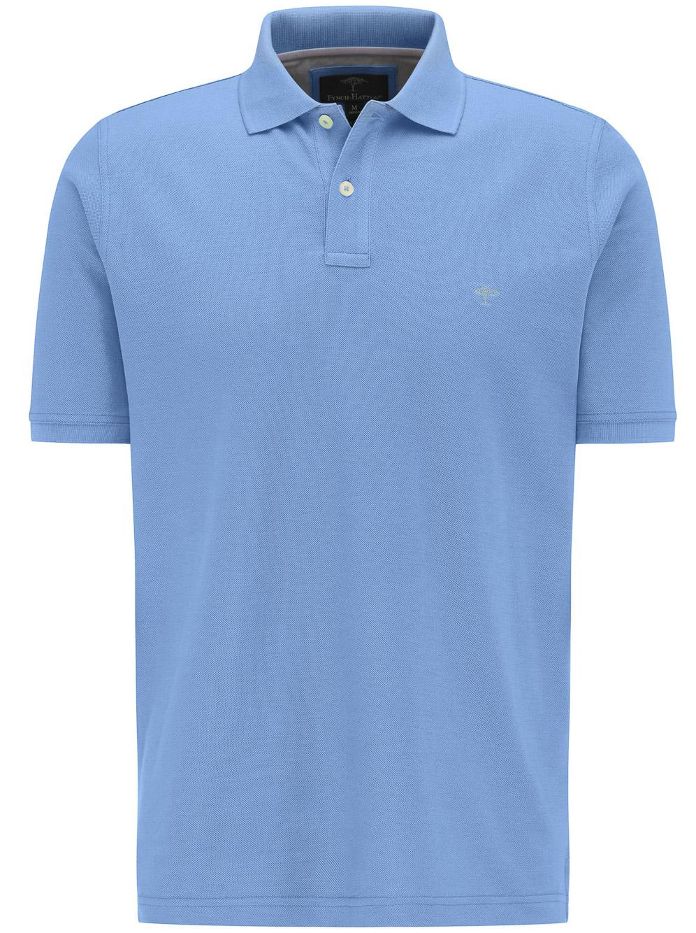 FYNCH-HATTON Μπλούζα Polo 1120 1700-614 ΓΑΛΑΖΙΟ