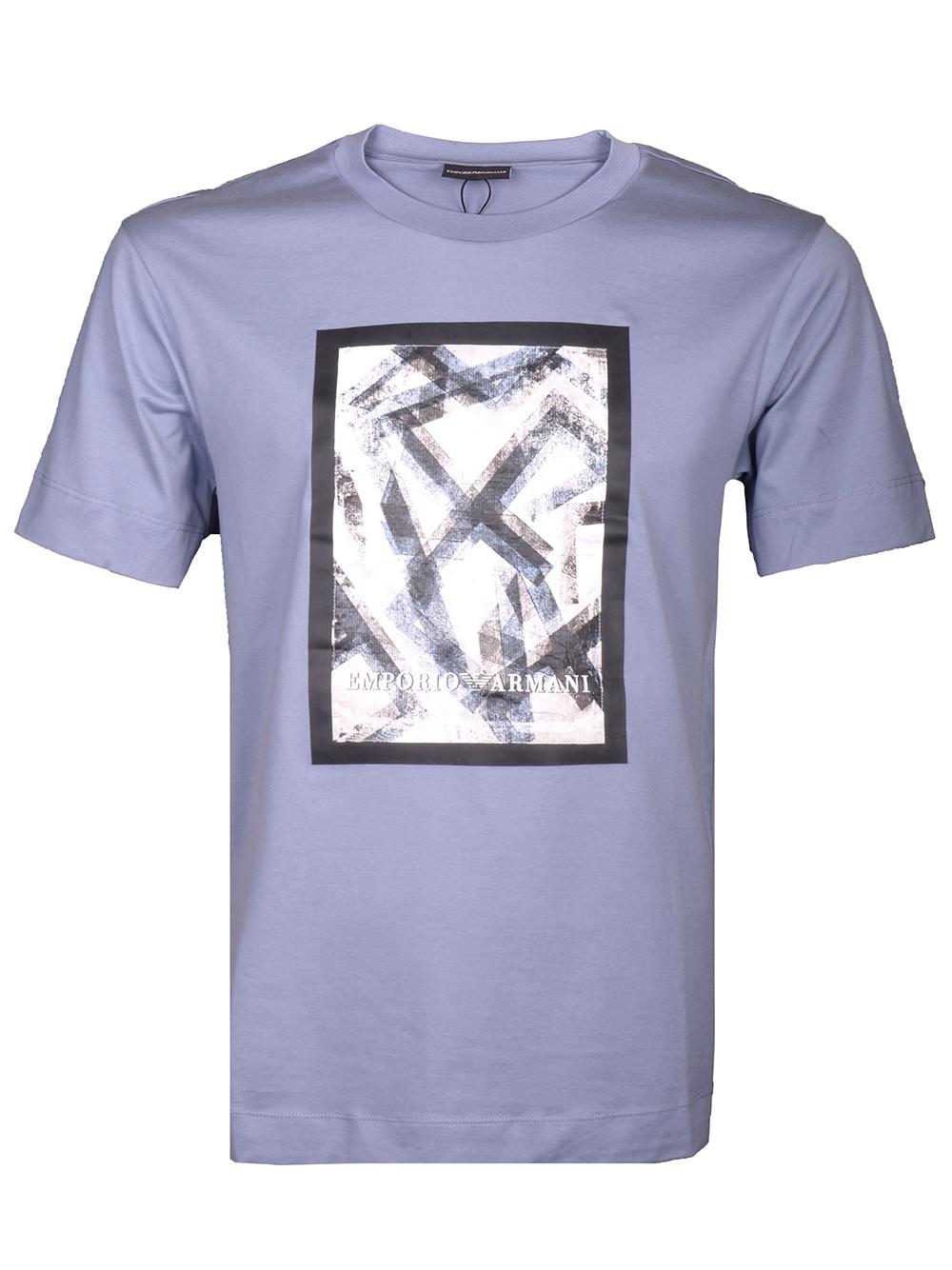 EMPORIO ARMANI Μπλούζα T-shirt 3H1TL0 1JCQZ-F715 ΓΚΡΙ