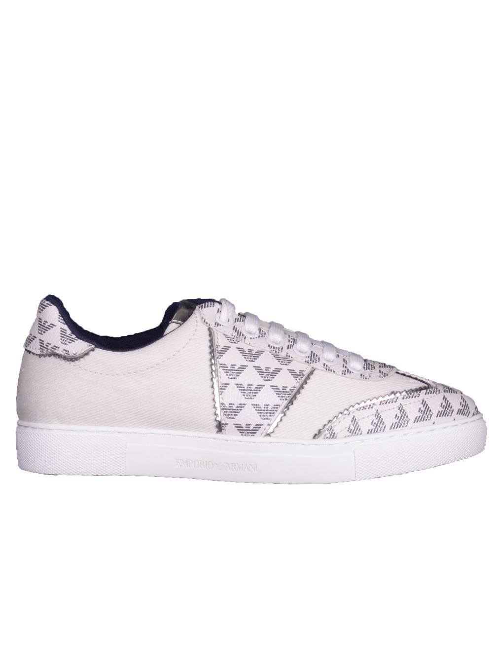 EMPORIO ARMANI Παπούτσια Sneakers X3X083 XM265-R730 ΕΚΡΟΥ