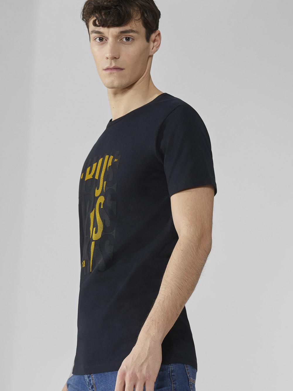 TRUSSARDI JEANS Μπλούζα T-shirt 352T003241T003610 ΜΑΥΡΟ