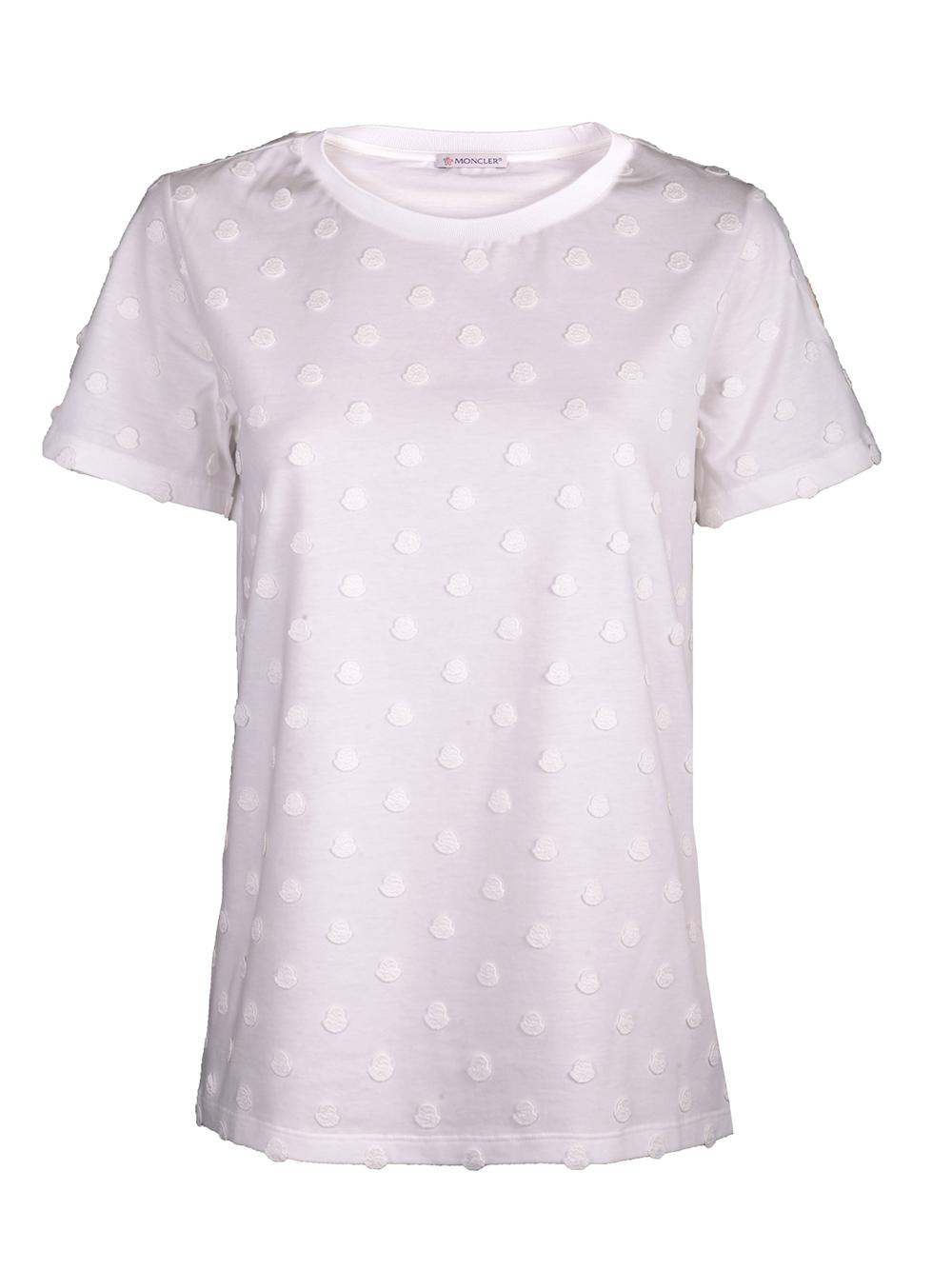 MONCLER Μπλούζα T-Shirt F10938C72300V8115 ΕΚΡΟΥ