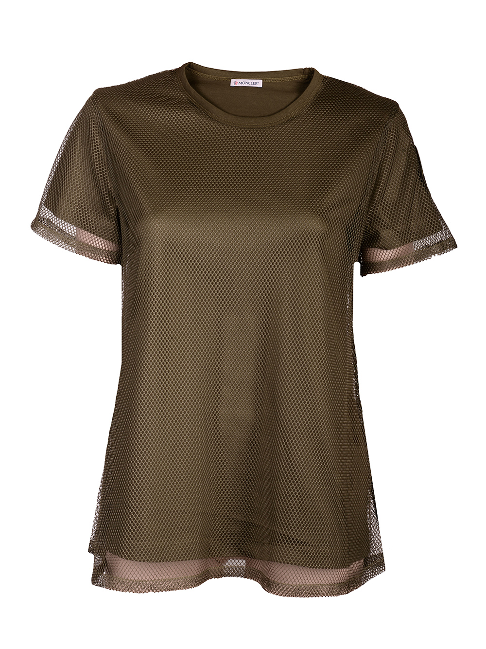 MONCLER Μπλούζα T-Shirt F10938C73500V8123 ΧΑΚΙ
