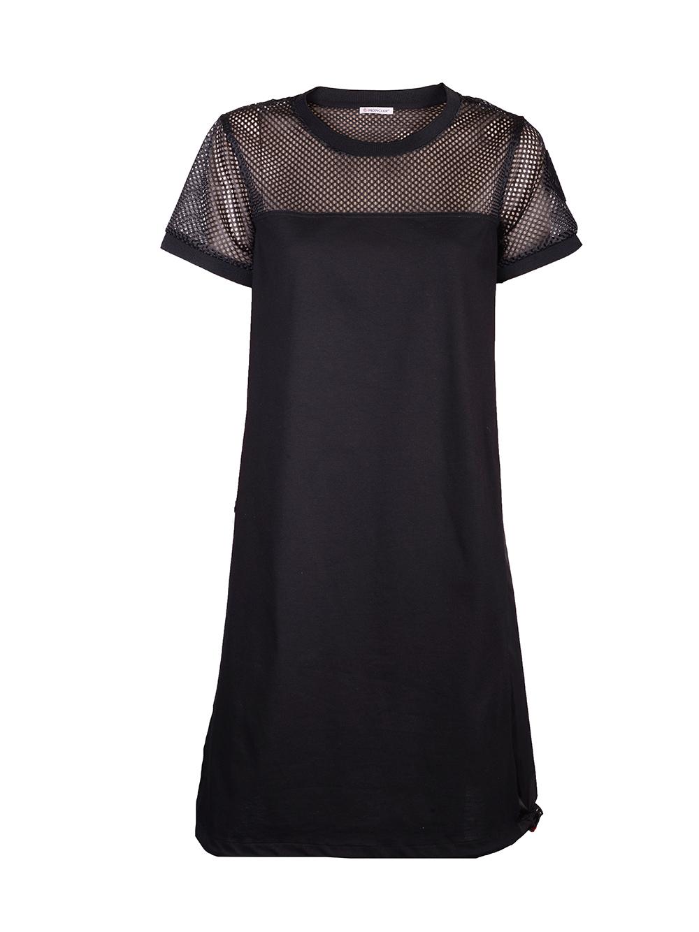 MONCLER Φόρεμα maxi F10938171200V8102 ΜΑΥΡΟ
