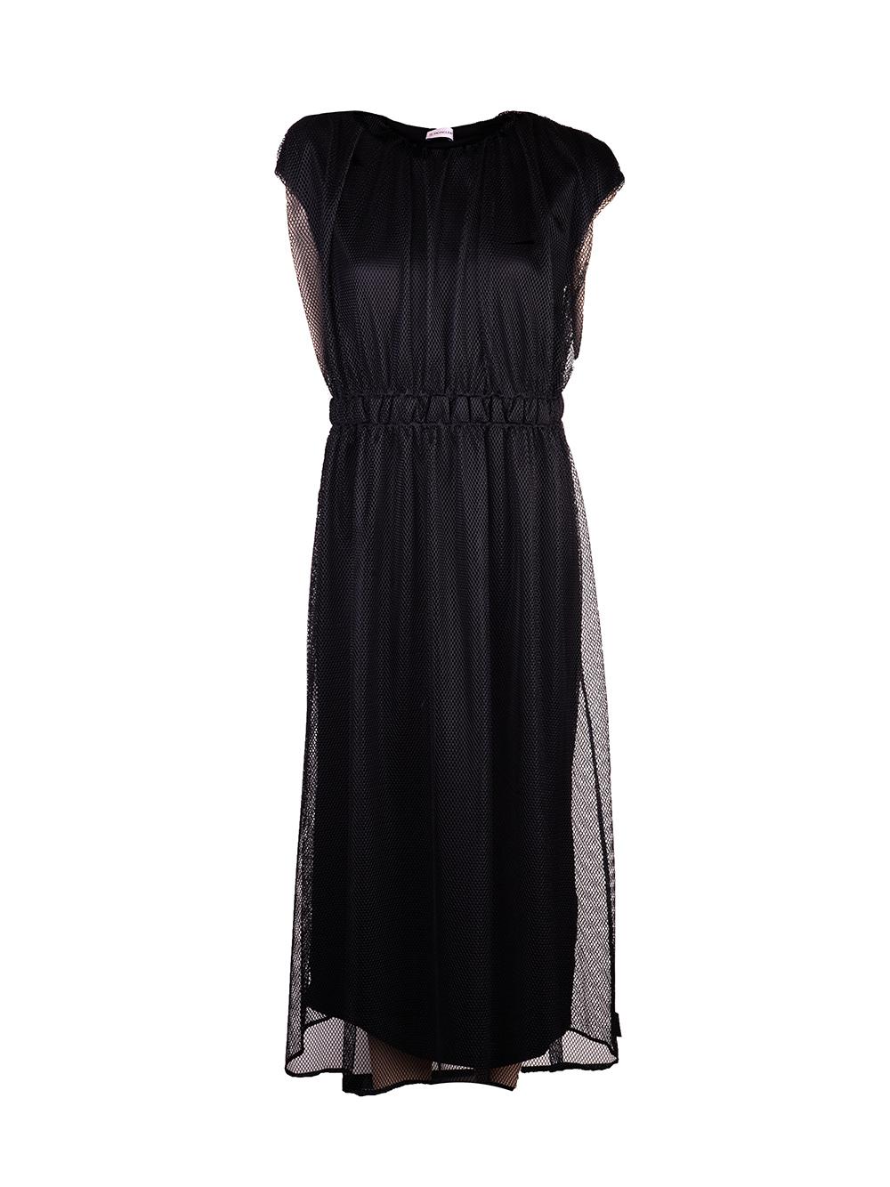 MONCLER Φόρεμα maxi F10938171100V8123 ΜΑΥΡΟ