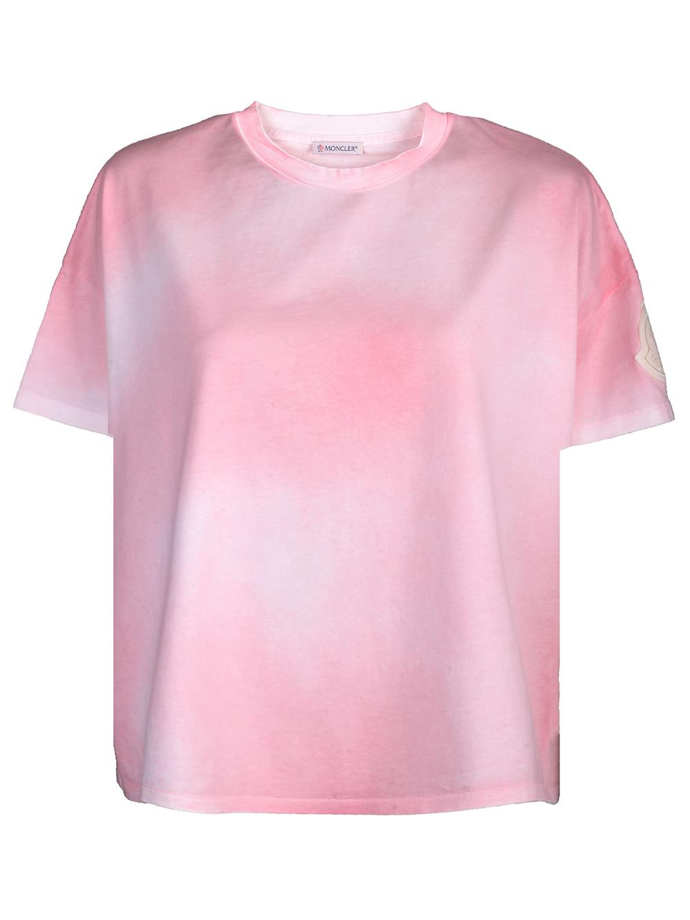 MONCLER Μπλούζα T-Shirt F10938C74110V8125 ΡΟΖ