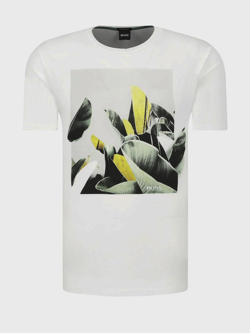BOSS Μπλούζα T-Shirt 50427922-100 ΛΕΥΚΟ
