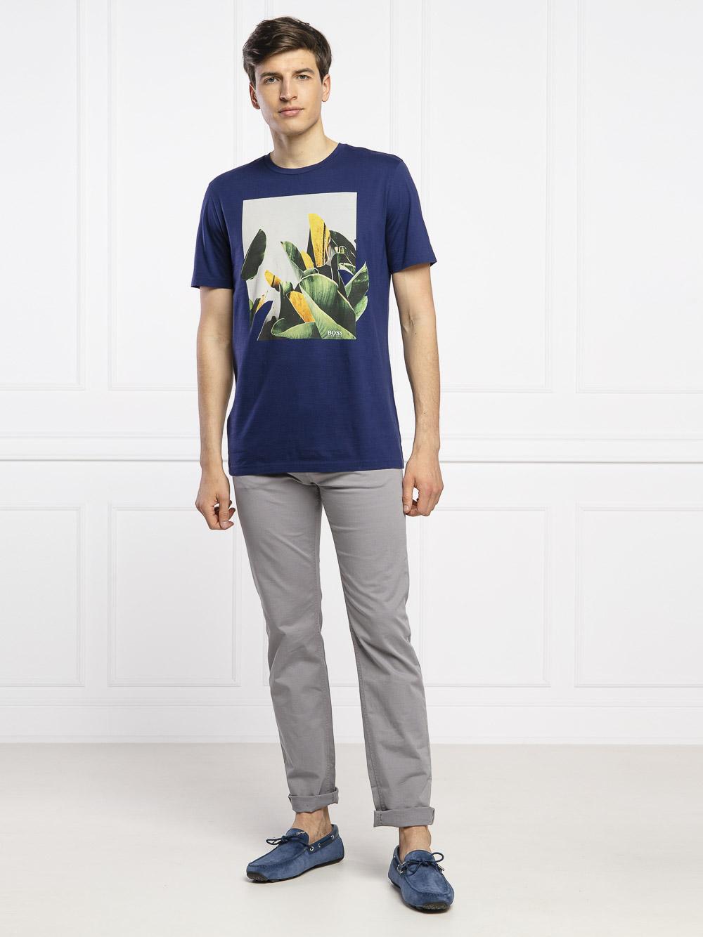 BOSS Μπλούζα T-Shirt 50427922-411 ΜΠΛΕ