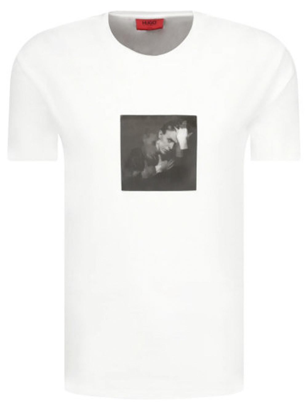 HUGO Μπλούζα T-Shirt 50427467-100 ΛΕΥΚΟ