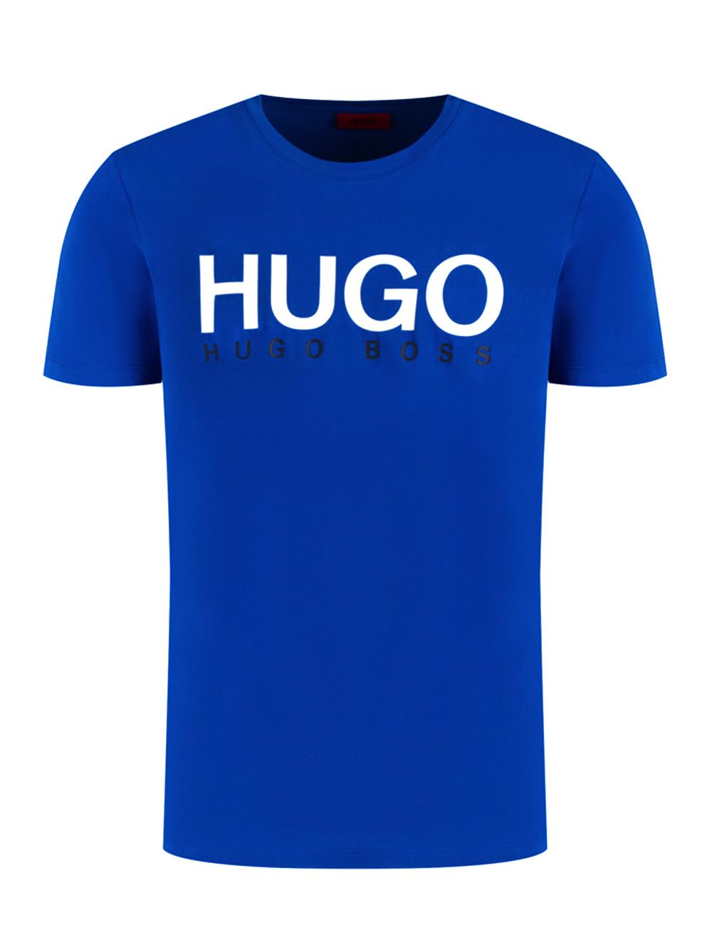 HUGO Μπλούζα T-Shirt 50424999-405 ΡΟΥΑ