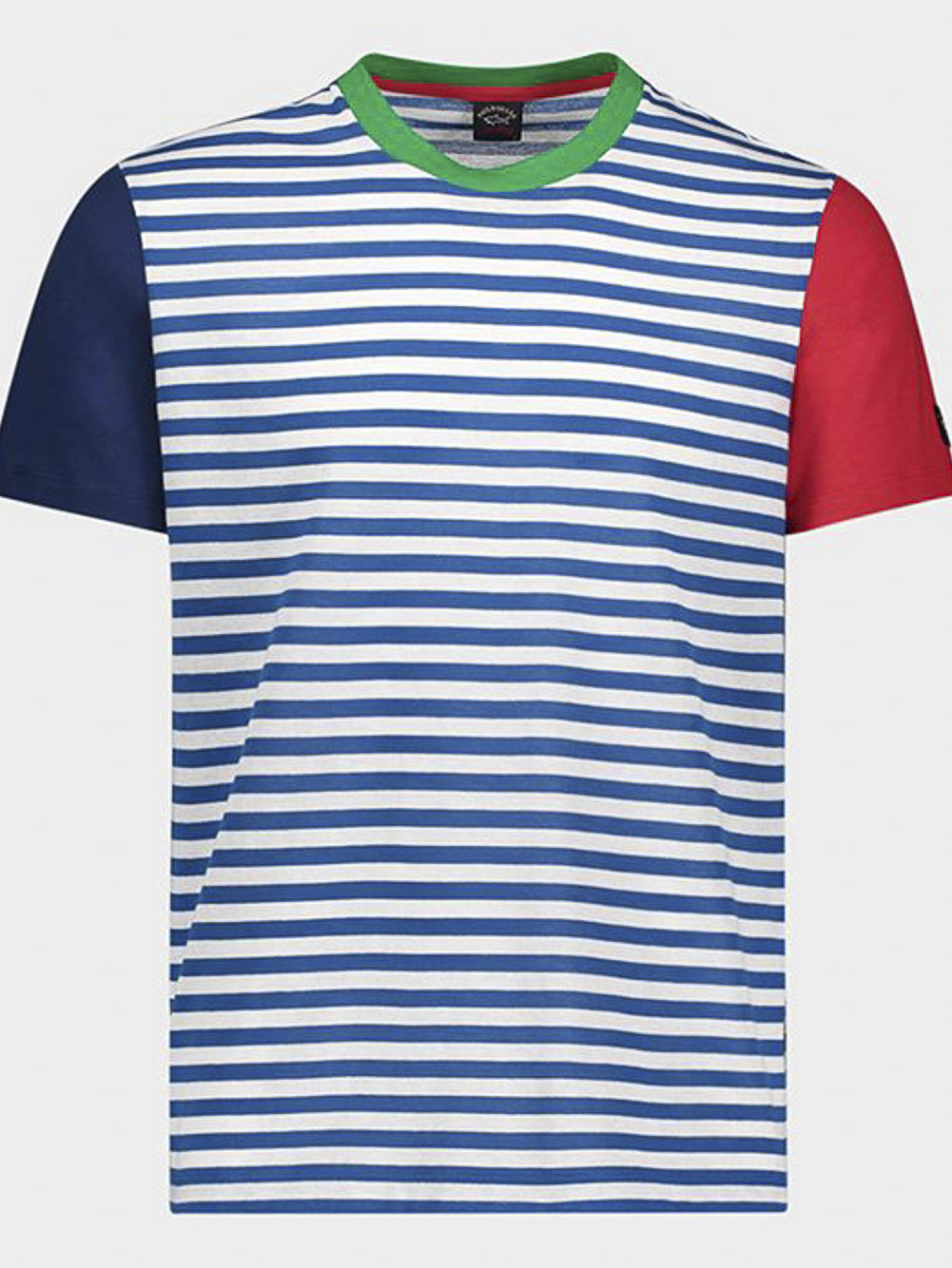 PAUL & SHARK Μπλούζα T-Shirt E20P1112-168 ΡΙΓΕ ΓΑΛΑΖΙΟ