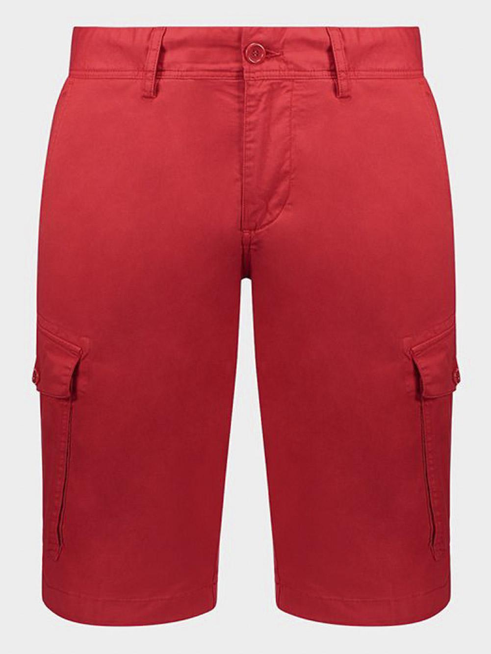 PAUL & SHARK Βερμούδα με πλαινές τσέπες E20P4003-577 ΚΟΚΚΙΝΟ