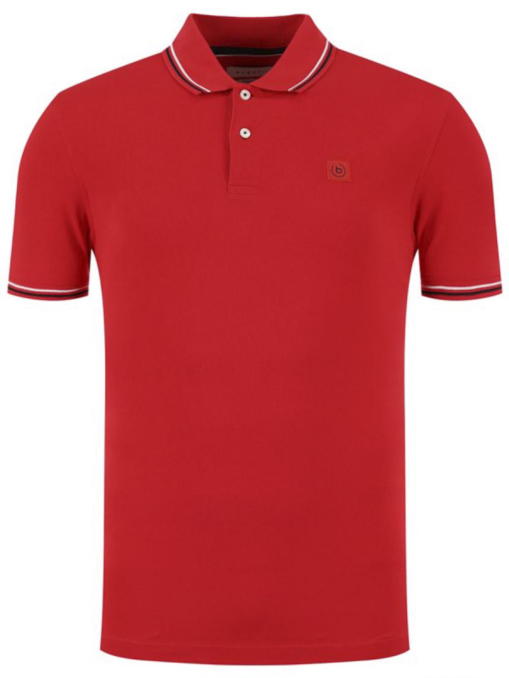 BUGATTI Μπλούζα Polo 8150 55001-950 ΚΟΚΚΙΝΟ