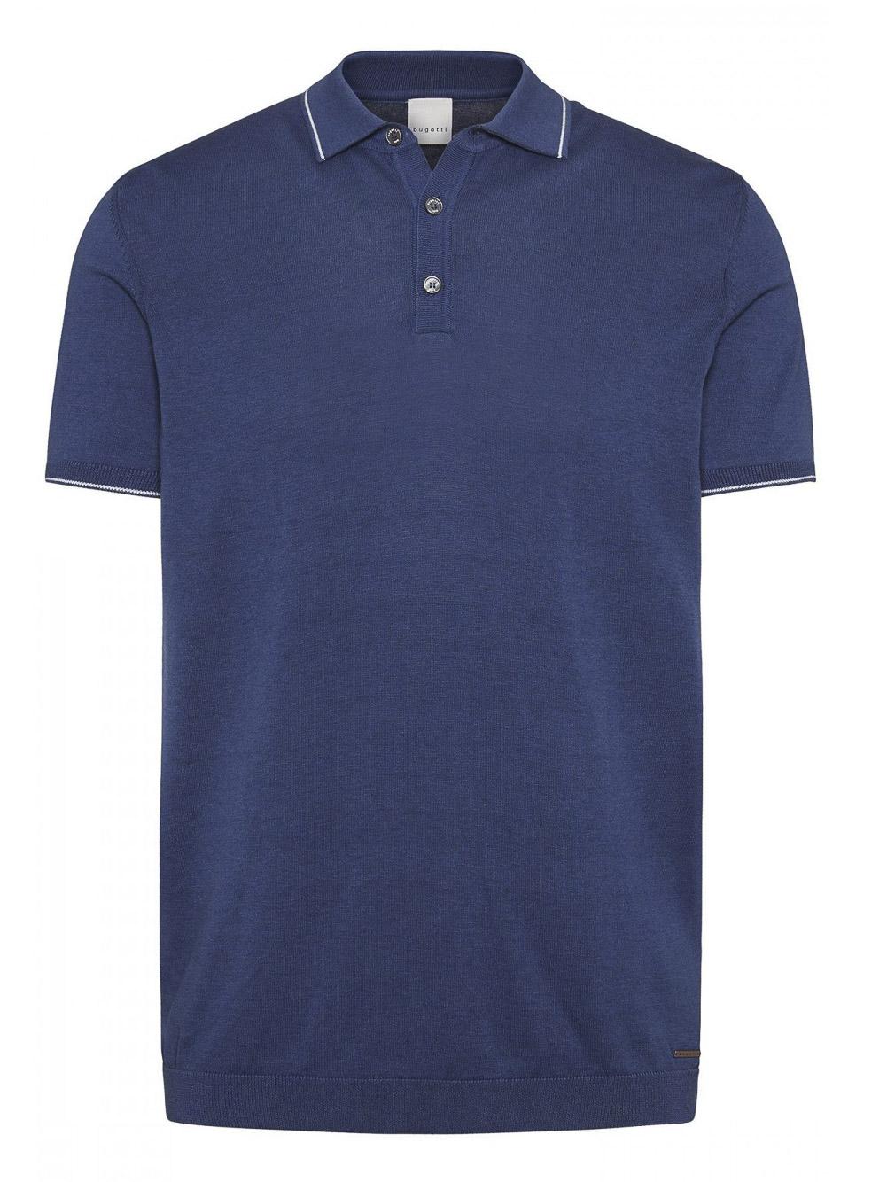 BUGATTI Μπλούζα Polo 7100 55515-370 ΡΑΦ