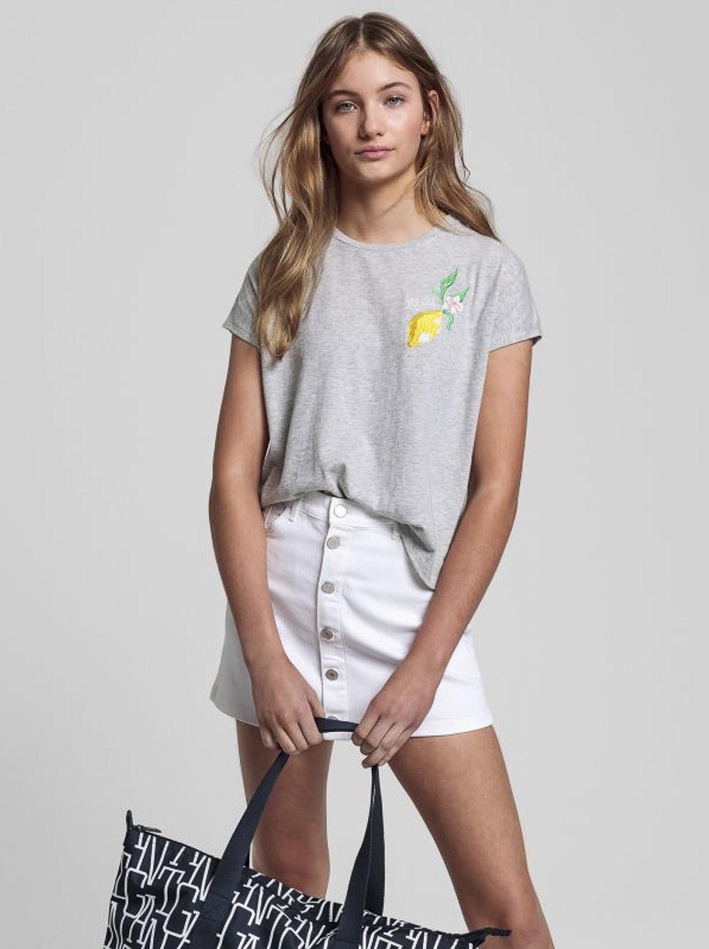 GANT Μπλούζα T-Shirt 3G605157-94 ΓΚΡΙ