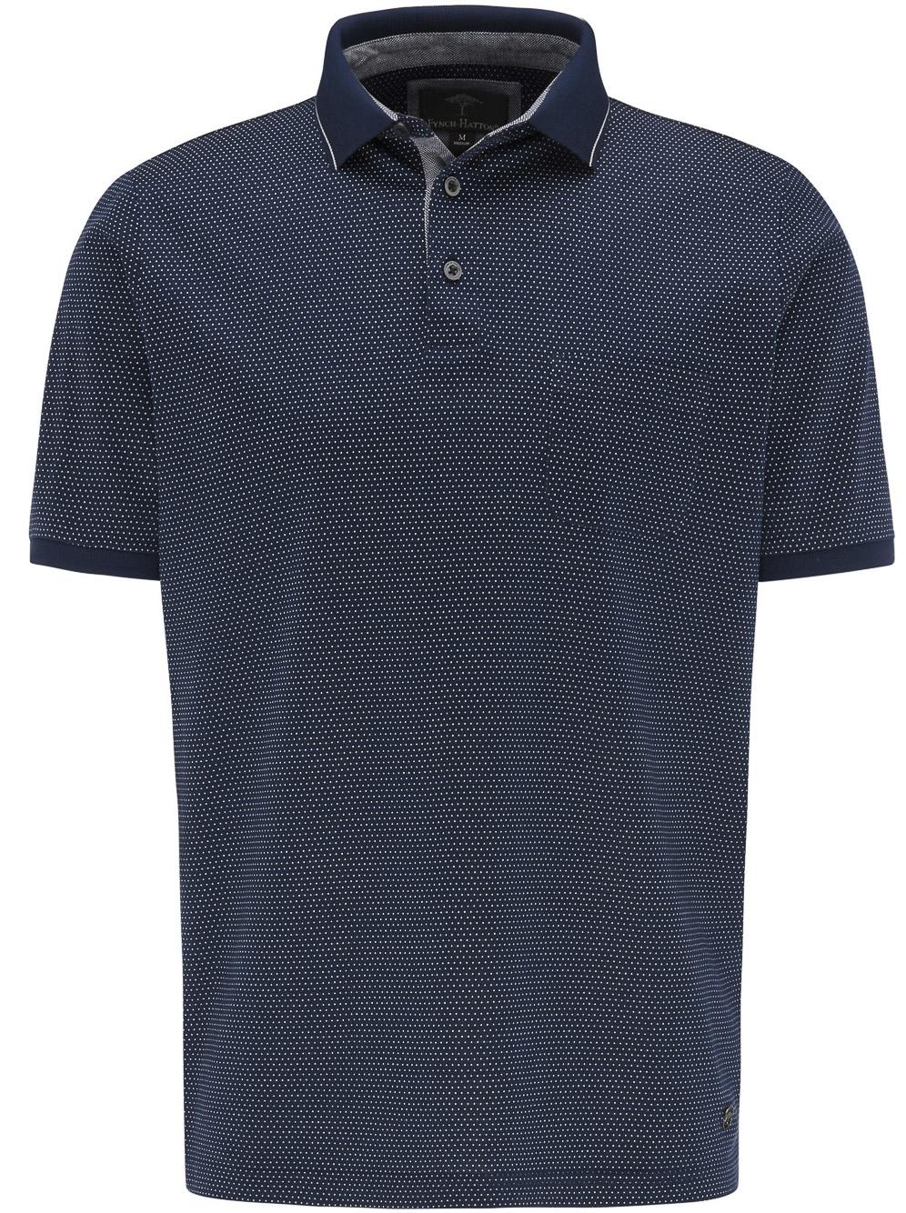 FYNCH-HATTON Μπλούζα Polo 1120 1784-1695 ΜΠΛΕ