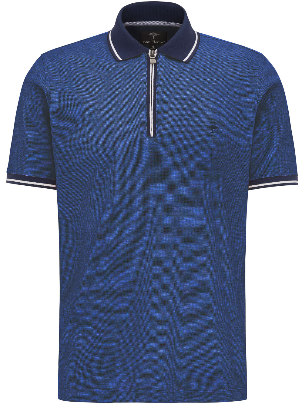 FYNCH-HATTON Μπλούζα Polo 1120 1754-1668 ΜΠΛΕ