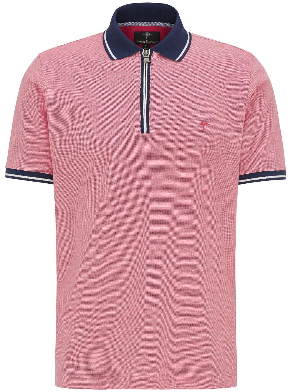 FYNCH-HATTON Μπλούζα Polo 1120 1754-1415 ΚΟΡΑΛΙ
