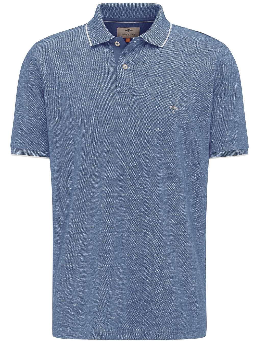 FYNCH-HATTON Μπλούζα Polo 1120 1790-1509 ΣΙΕΛ