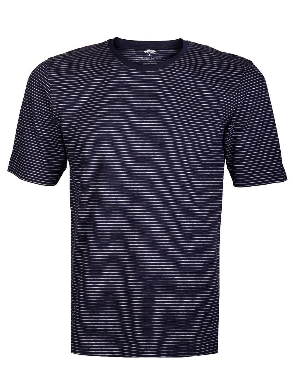 FYNCH-HATTON Μπλούζα T-shirt 1120 1612-1548 ΜΠΛΕ