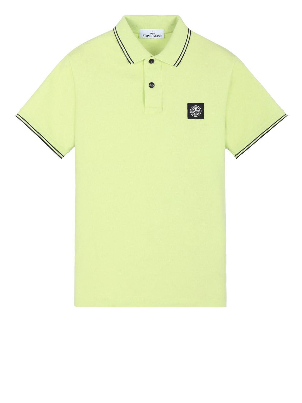 STONE ISLAND Μπλούζα Polo MO101522S18-V1031 ΚΙΤΡΙΝΟ