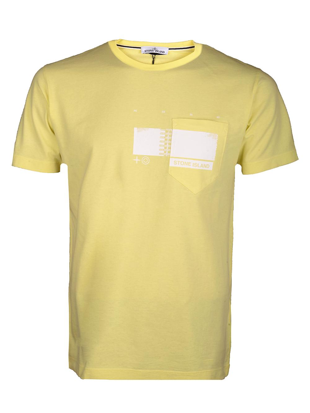 STONE ISLAND Μπλούζα T-Shirt MO721524685-V0031 ΚΙΤΡΙΝΟ