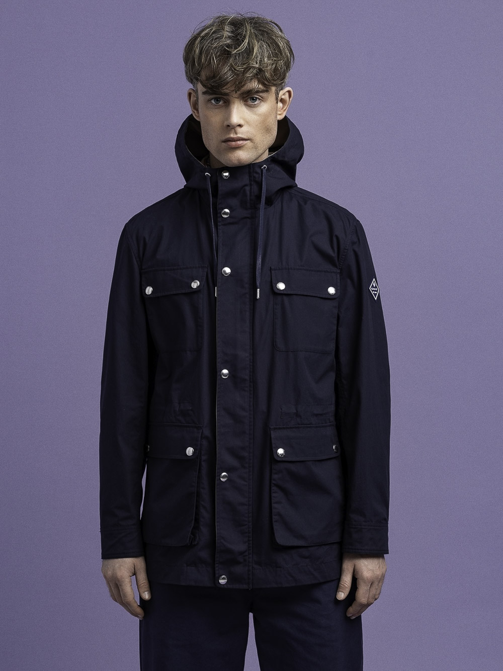 GANT Μπουφάν jacket 3G7006074-409 ΜΠΛΕ