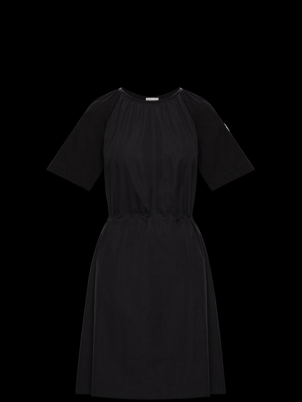 MONCLER Φόρεμα midi F2938I71800V8058-999 ΜΑΥΡΟ
