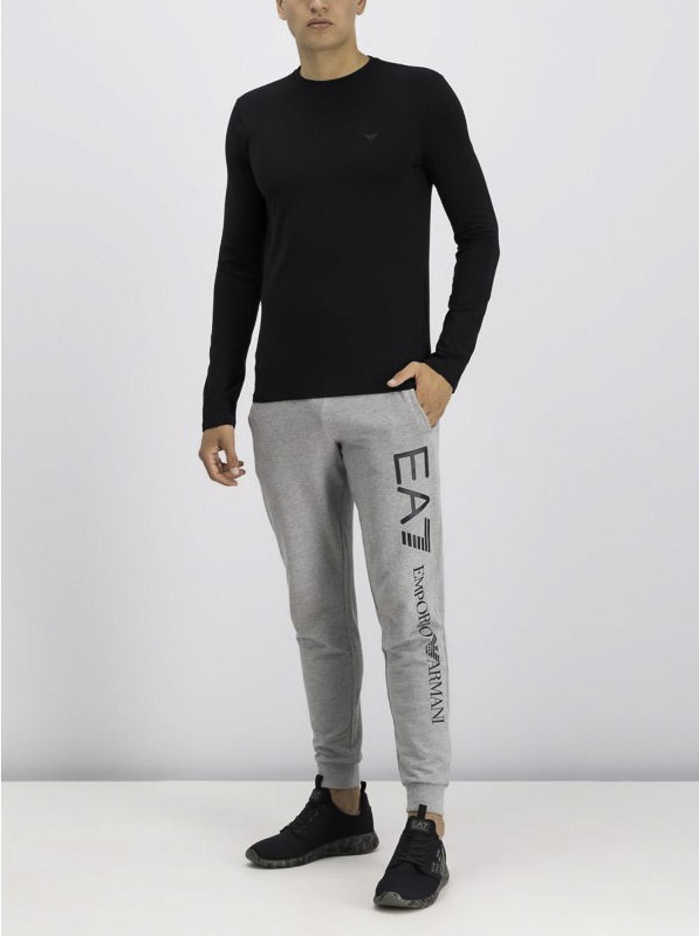 EMPORIO ARMANI Μπλούζα T-Shirt 8N1T81 1J0AZ ΜΑΥΡΟ