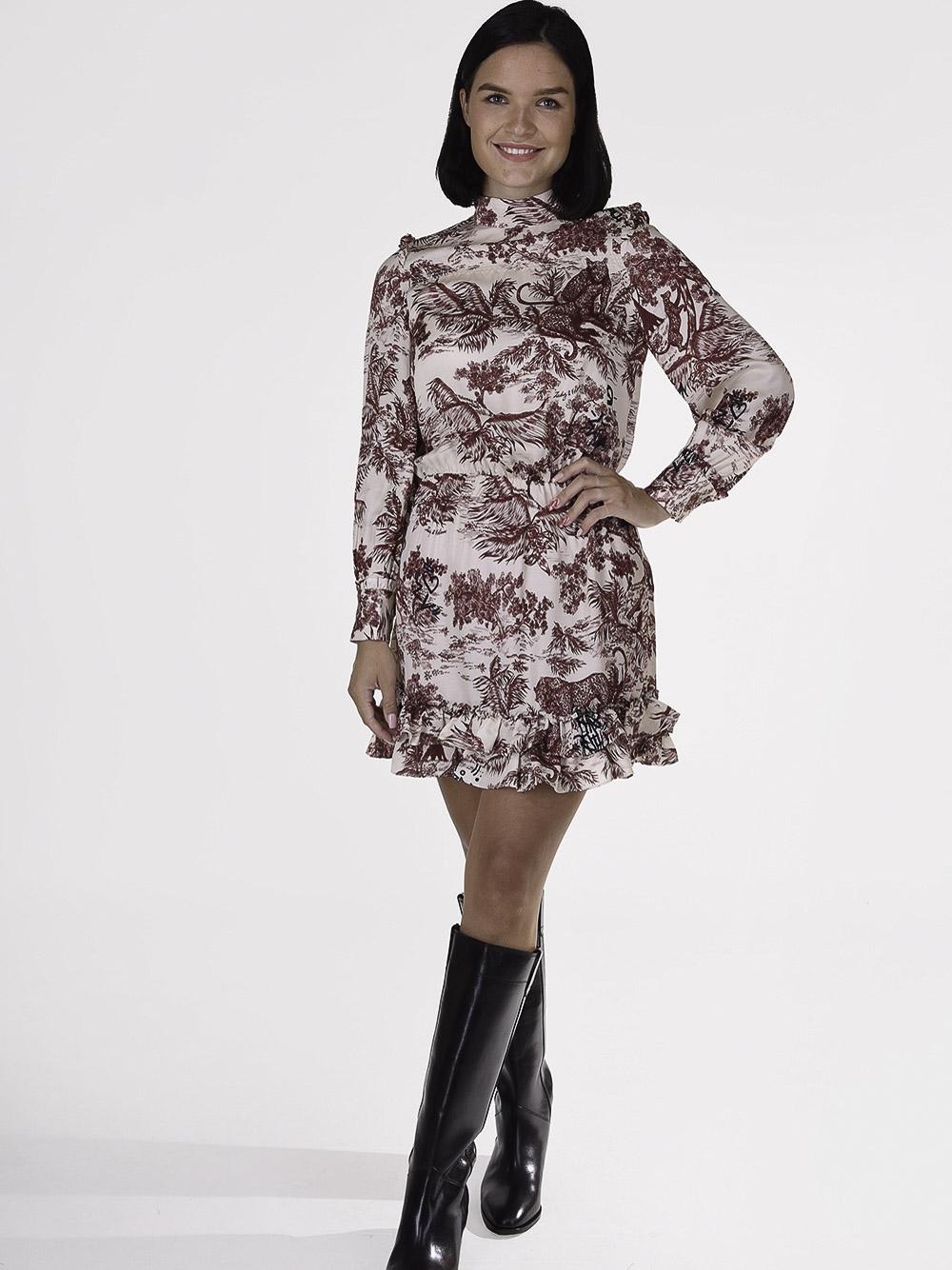 ZADIG & VOLTAIRE Φόρεμα κοντό WJCDO403F ΜΠΟΡΝΤΩ