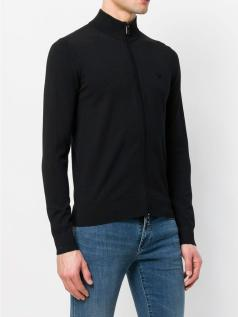 Ζακέτα zip-neck