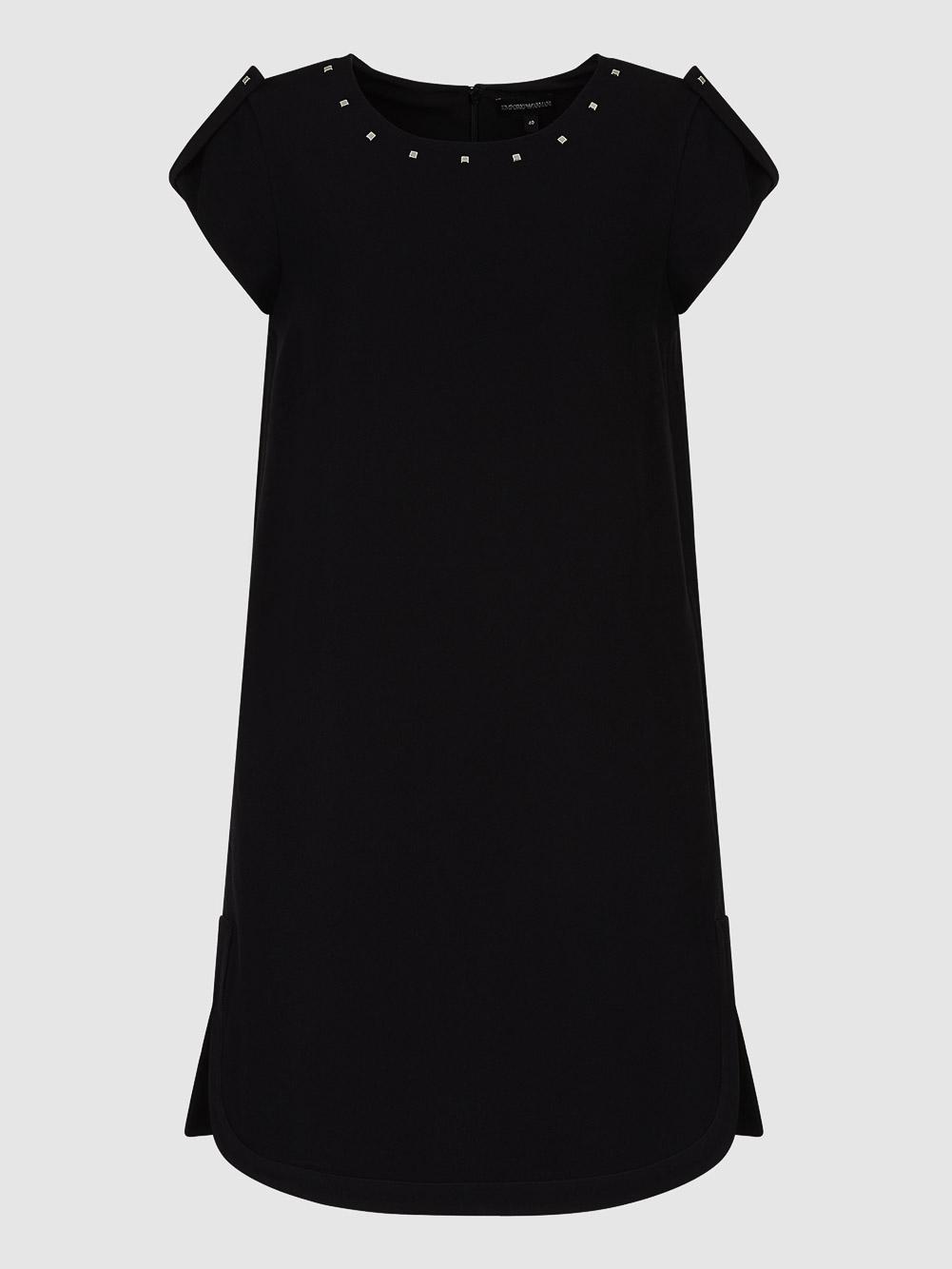 EMPORIO ARMANI Φόρεμα midi 6H2A69 2NNEZ-0999 ΜΑΥΡΟ