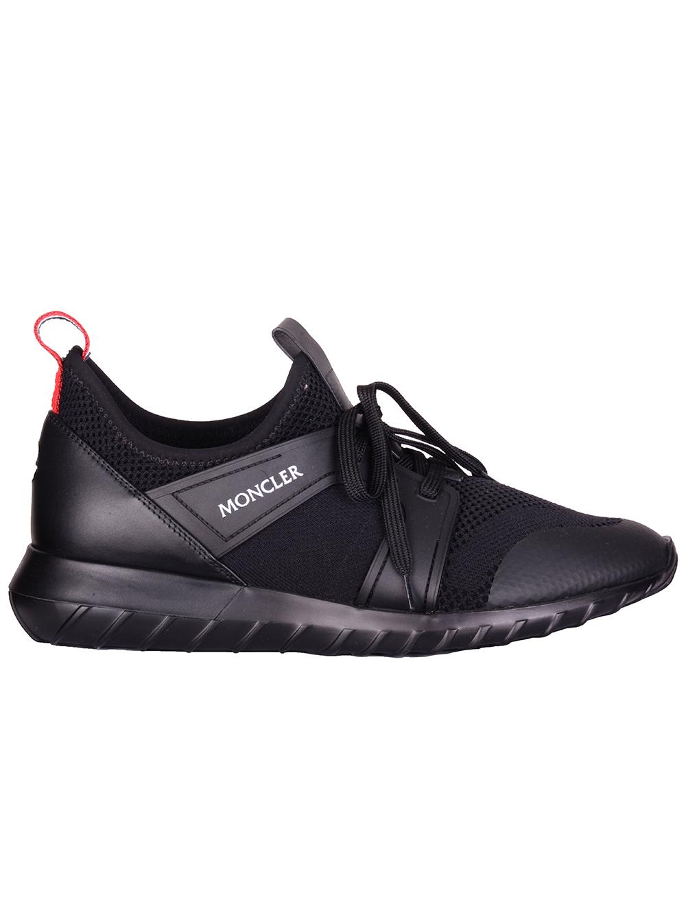 MONCLER Παπούτσια Sneakers F29A4M7000002S0P-999 ΜΑΥΡΟ