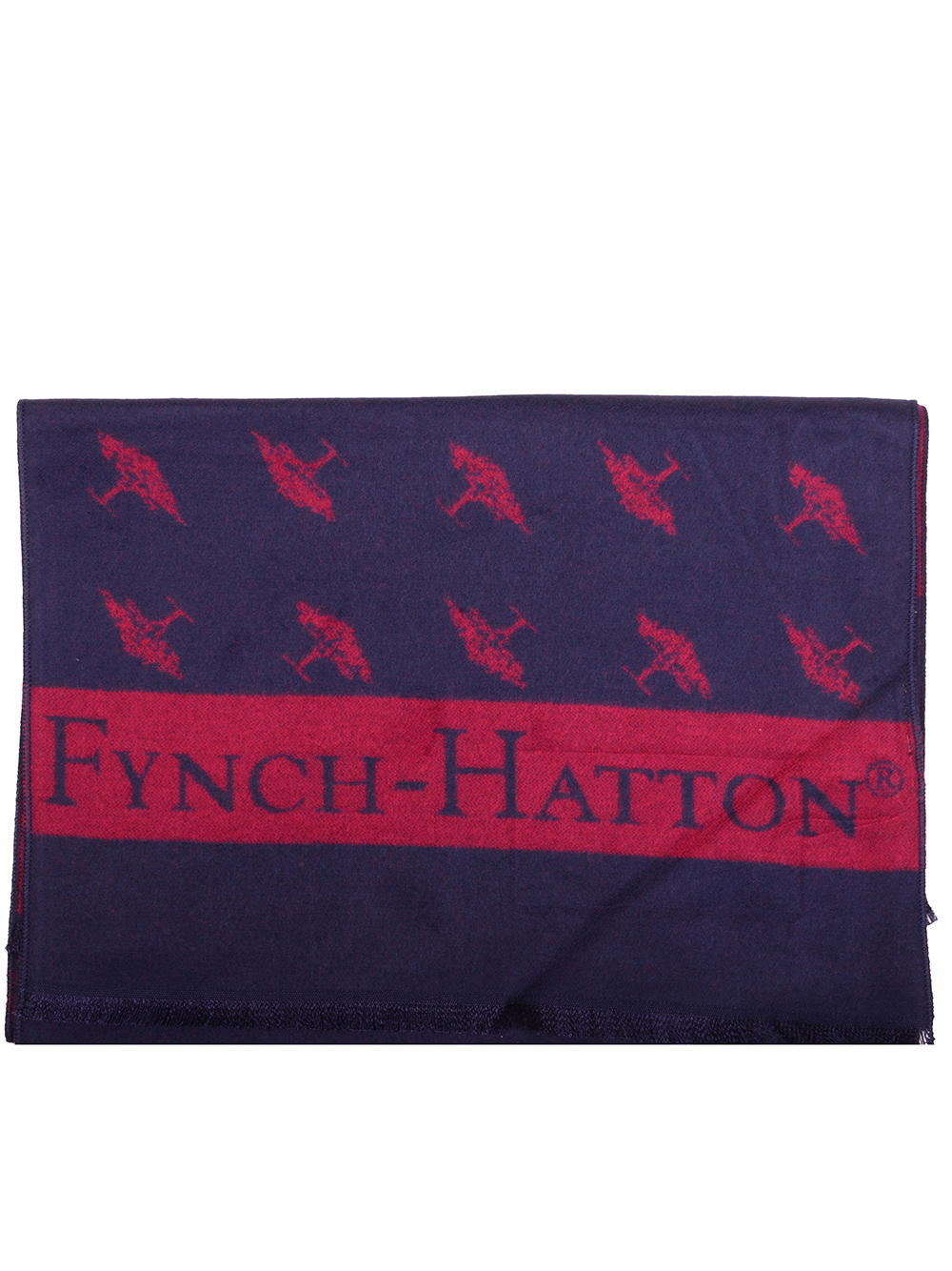 FYNCH-HATTON Κασκόλ 1220 0100-1600 ΜΠΛΕ