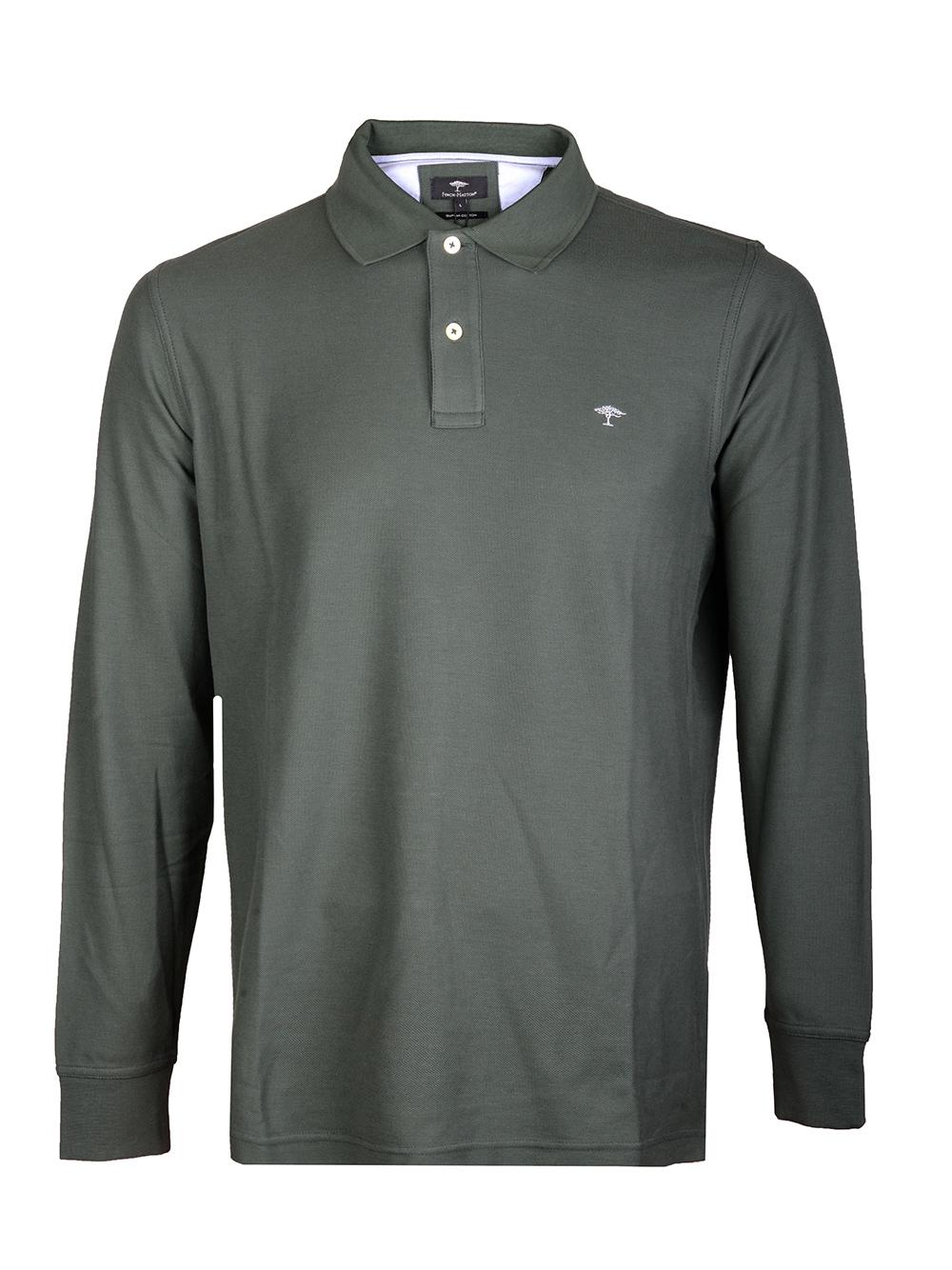 FYNCH-HATTON Μπλούζα Polo 1220 1701-746 ΠΡΑΣΙΝΟ