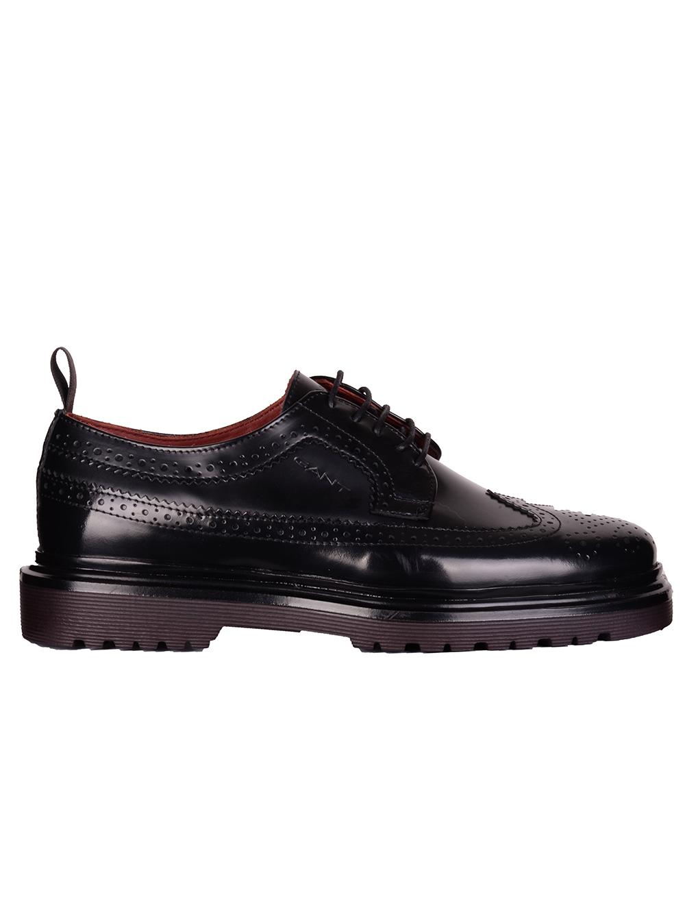 GANT Παπούτσια oxford 3GS21631003-00 ΜΑΥΡΟ