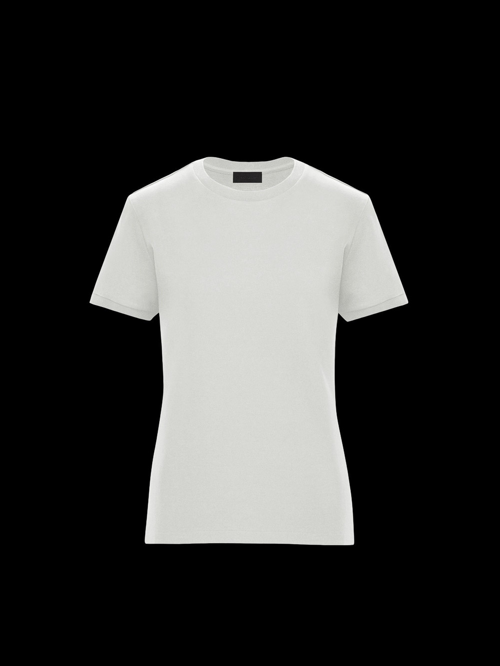 MONCLER Μπλούζα T-shirt 0938C7B010829H8-034 ΛΕΥΚΟ