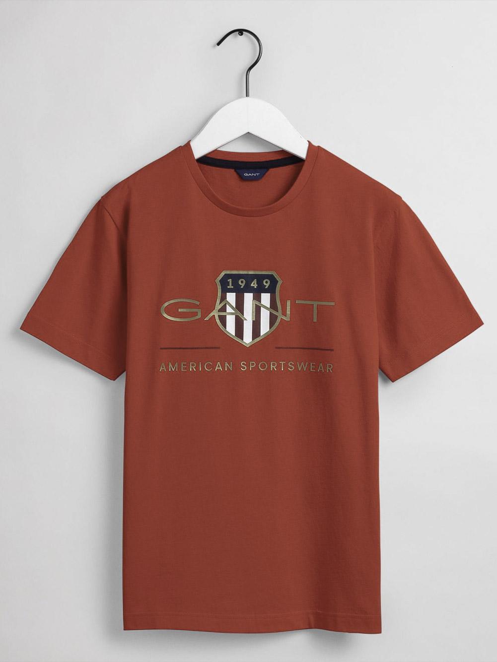 GANT Μπλούζα t-shirt 3G905182-667 ΦΟΥΞΙΑ