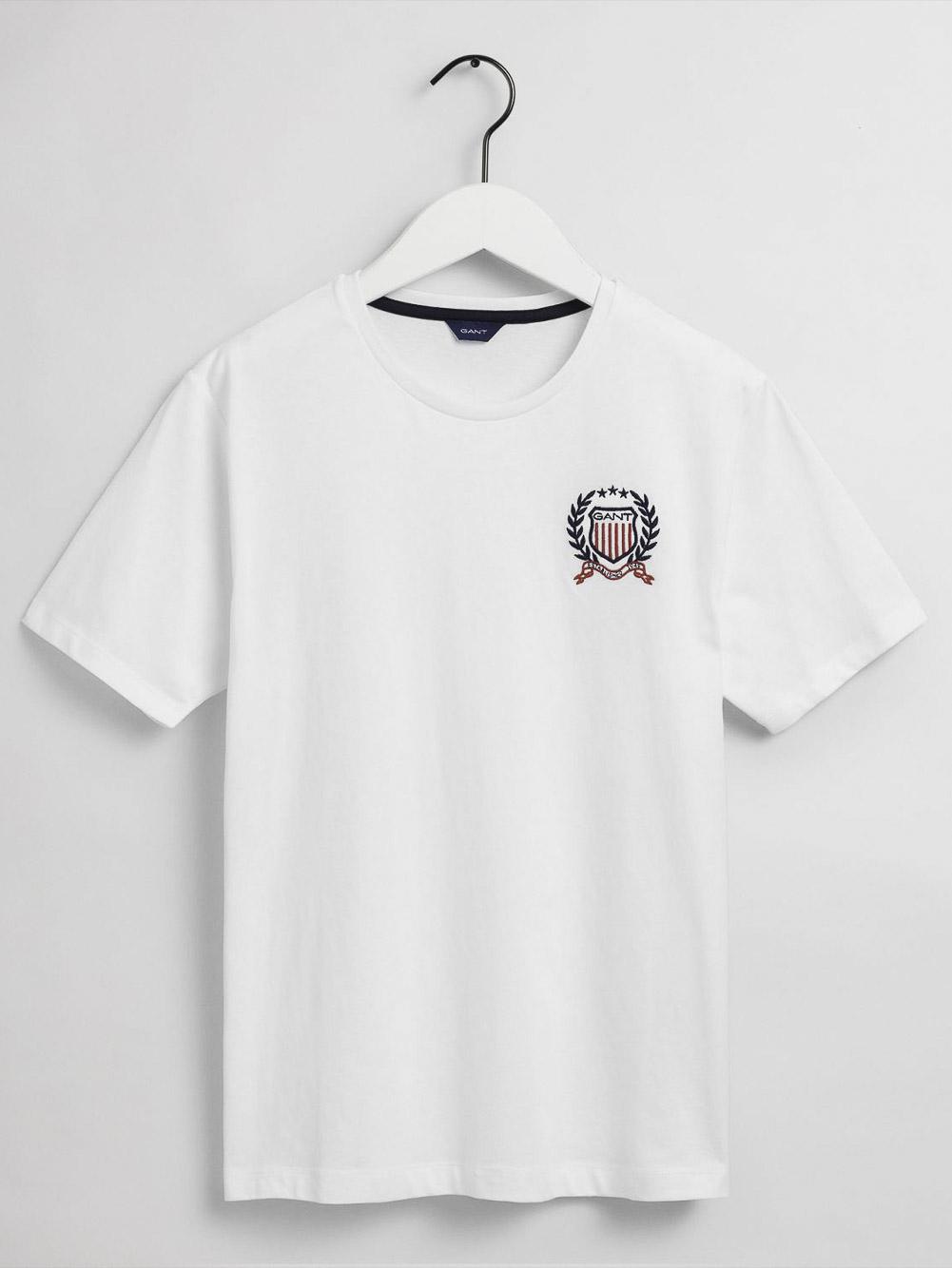 GANT Μπλούζα t-shirt 3G905187-110 ΛΕΥΚΟ